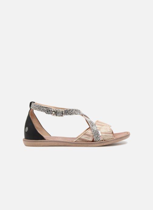 Sandales et nu-pieds GBB Cristina Multicolore vue derrière