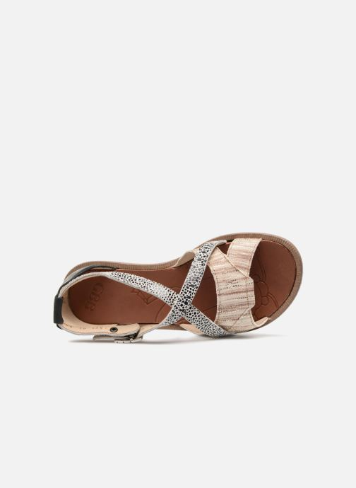 Sandales et nu-pieds GBB Cristina Multicolore vue gauche