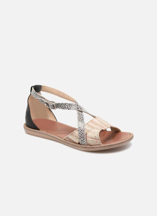 Sandales et nu-pieds GBB Cristina Multicolore vue détail/paire