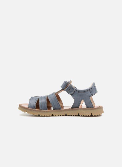 Sandales et nu-pieds GBB Patrizio Bleu vue face