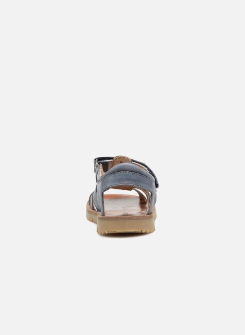 Sandales et nu-pieds GBB Patrizio Bleu vue droite