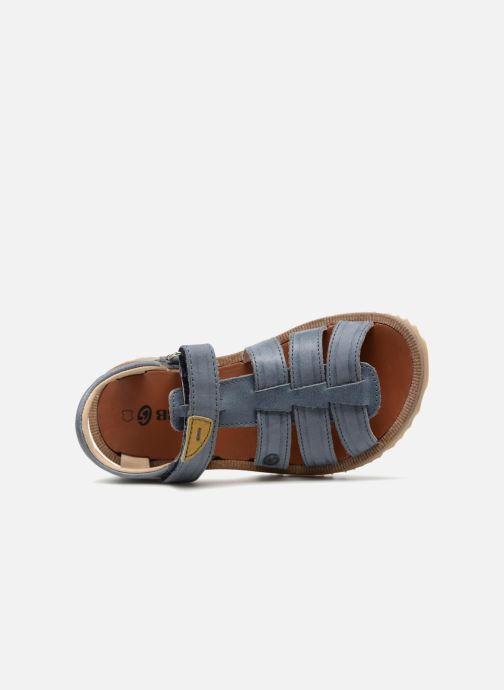 Sandales et nu-pieds GBB Patrizio Bleu vue gauche