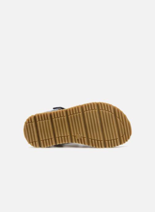 Sandales et nu-pieds GBB Patrizio Bleu vue haut