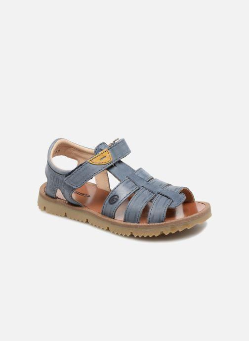 Sandales et nu-pieds GBB Patrizio Bleu vue détail/paire