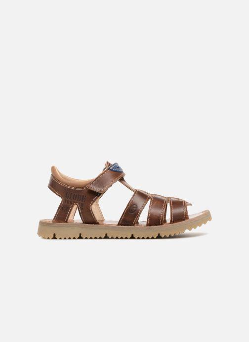 Sandales et nu-pieds GBB Patrizio Marron vue derrière