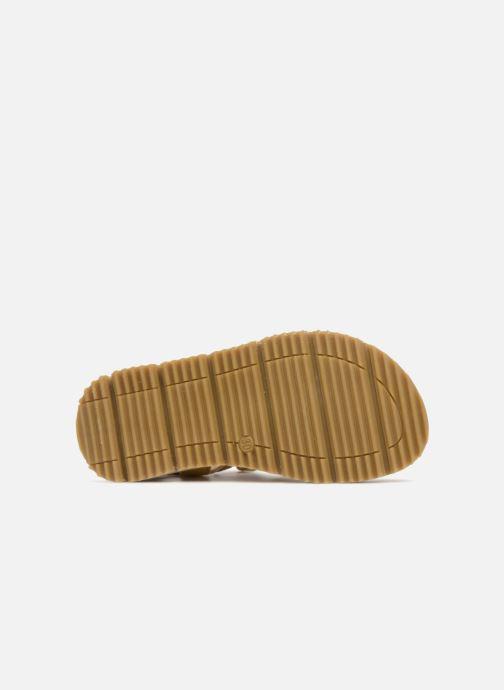 Sandales et nu-pieds GBB Patrizio Jaune vue haut
