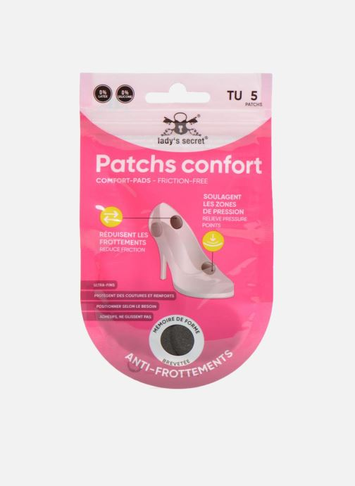 Plantillas Lady's Secret Patchs conforts Negro vista de detalle / par