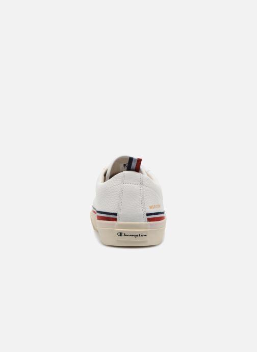 Baskets Champion Low Cut Shoe MERCURY LOW LEATHER Blanc vue droite