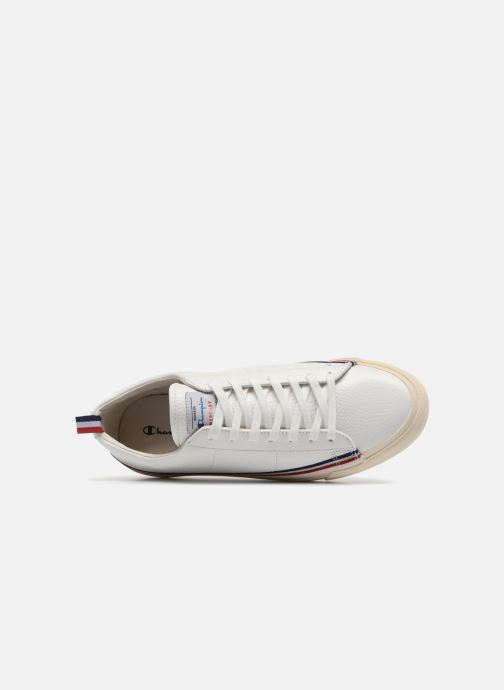 Baskets Champion Low Cut Shoe MERCURY LOW LEATHER Blanc vue gauche