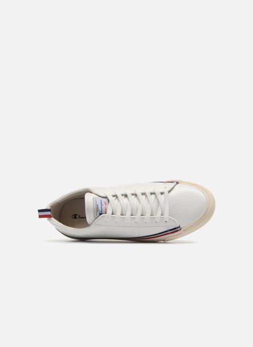 Baskets Champion Low Cut Shoe MERCURY LOW LEATHER Blanc vue gauche