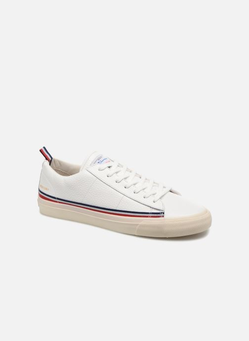 bf1888245 Trainers Champion Low Cut Shoe MERCURY LOW LEATHER White detailed view   Pair view