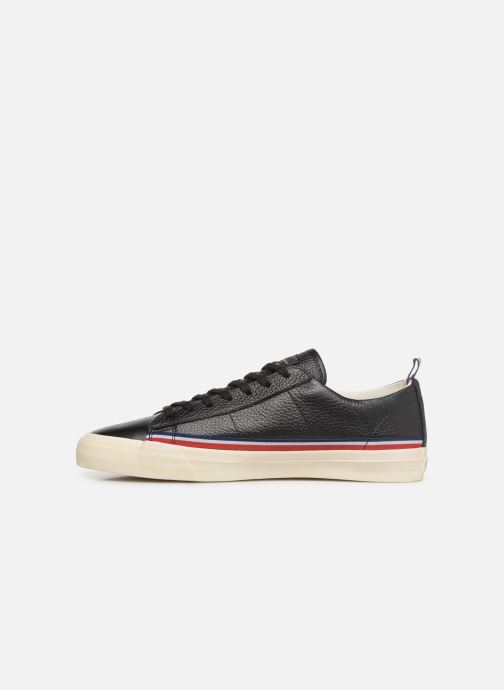 Trainers Champion Low Cut Shoe MERCURY LOW LEATHER Black front view