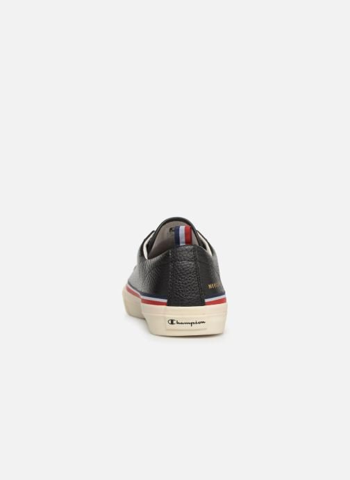Baskets Champion Low Cut Shoe MERCURY LOW LEATHER Noir vue droite