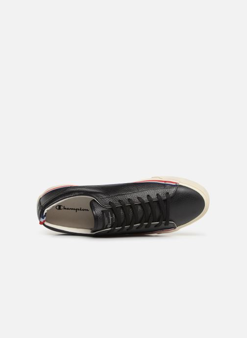 Trainers Champion Low Cut Shoe MERCURY LOW LEATHER Black view from the left