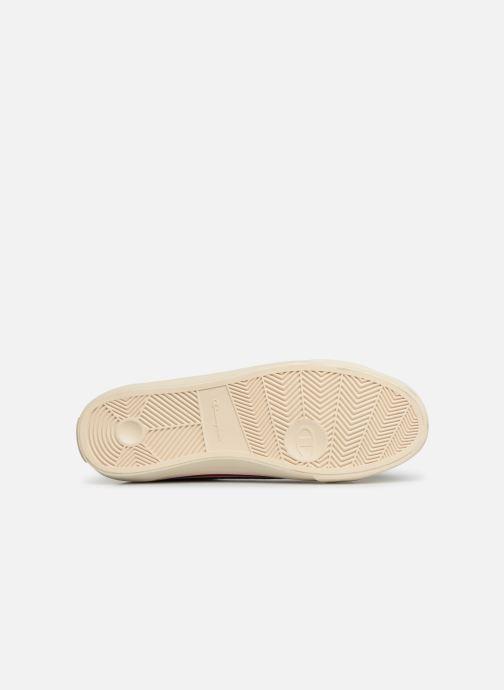 Sneakers Champion Low Cut Shoe MERCURY LOW LEATHER Zwart boven