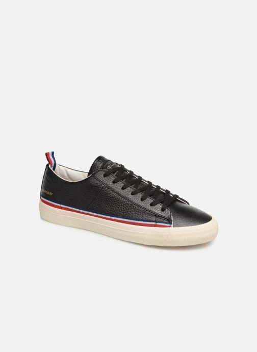 Deportivas Champion Low Cut Shoe MERCURY LOW LEATHER Negro vista de detalle / par