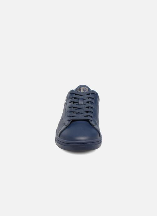 Trainers Champion Low Cut Shoe 919 LOW PATCH LEATHER Blue model view