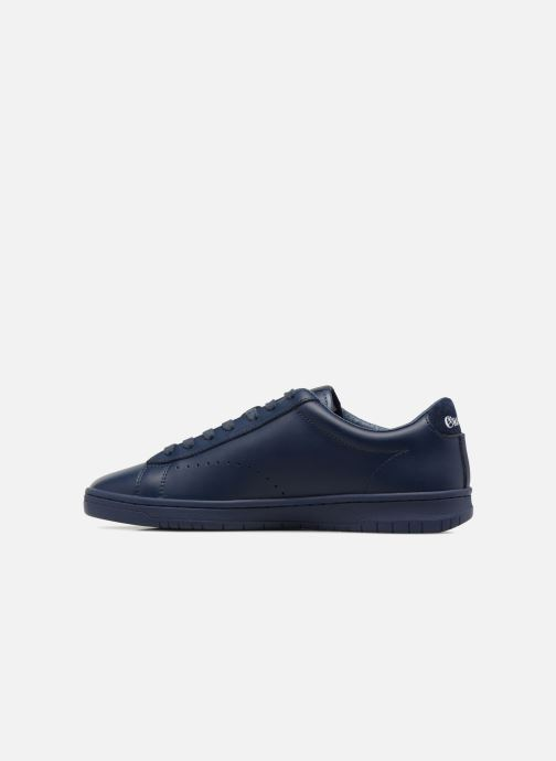Trainers Champion Low Cut Shoe 919 LOW PATCH LEATHER Blue front view