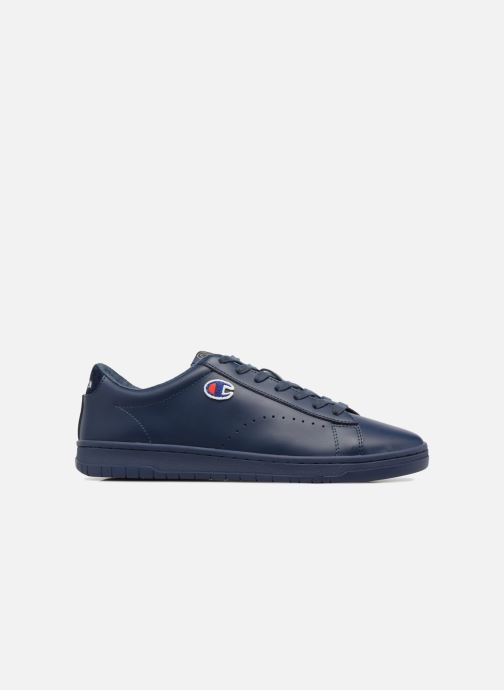 Trainers Champion Low Cut Shoe 919 LOW PATCH LEATHER Blue back view