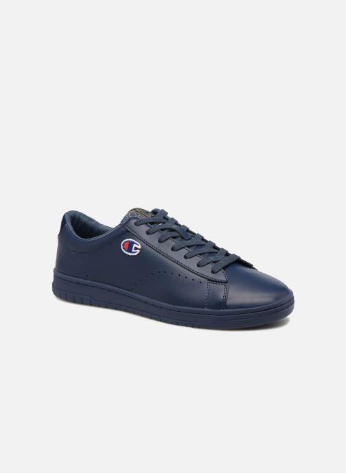 Deportivas Champion Low Cut Shoe 919 LOW PATCH LEATHER Azul vista de detalle / par