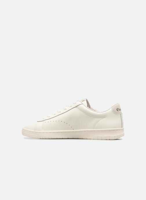 Baskets Champion Low Cut Shoe 919 LOW PATCH LEATHER Blanc vue face