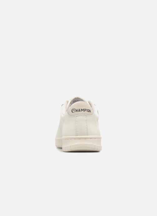 Baskets Champion Low Cut Shoe 919 LOW PATCH LEATHER Blanc vue droite