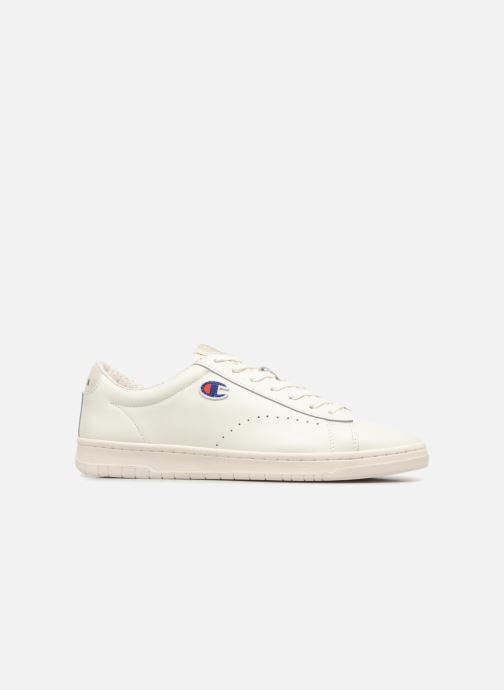 Baskets Champion Low Cut Shoe 919 LOW PATCH LEATHER Blanc vue derrière