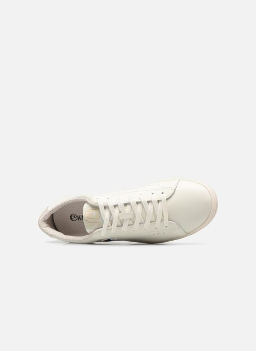 Sneakers Champion Low Cut Shoe 919 LOW PATCH LEATHER Bianco immagine sinistra