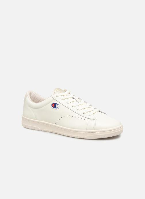 Sneakers Champion Low Cut Shoe 919 LOW PATCH LEATHER Bianco vedi dettaglio/paio