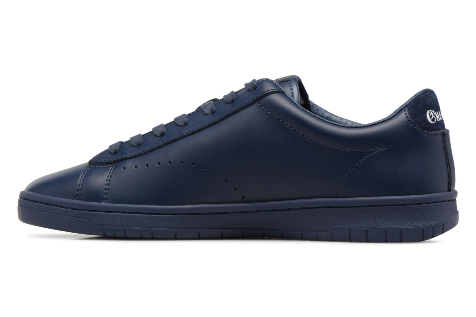 Baskets Champion Low Cut Shoe 919 LOW PATCH LEATHER Bleu vue face