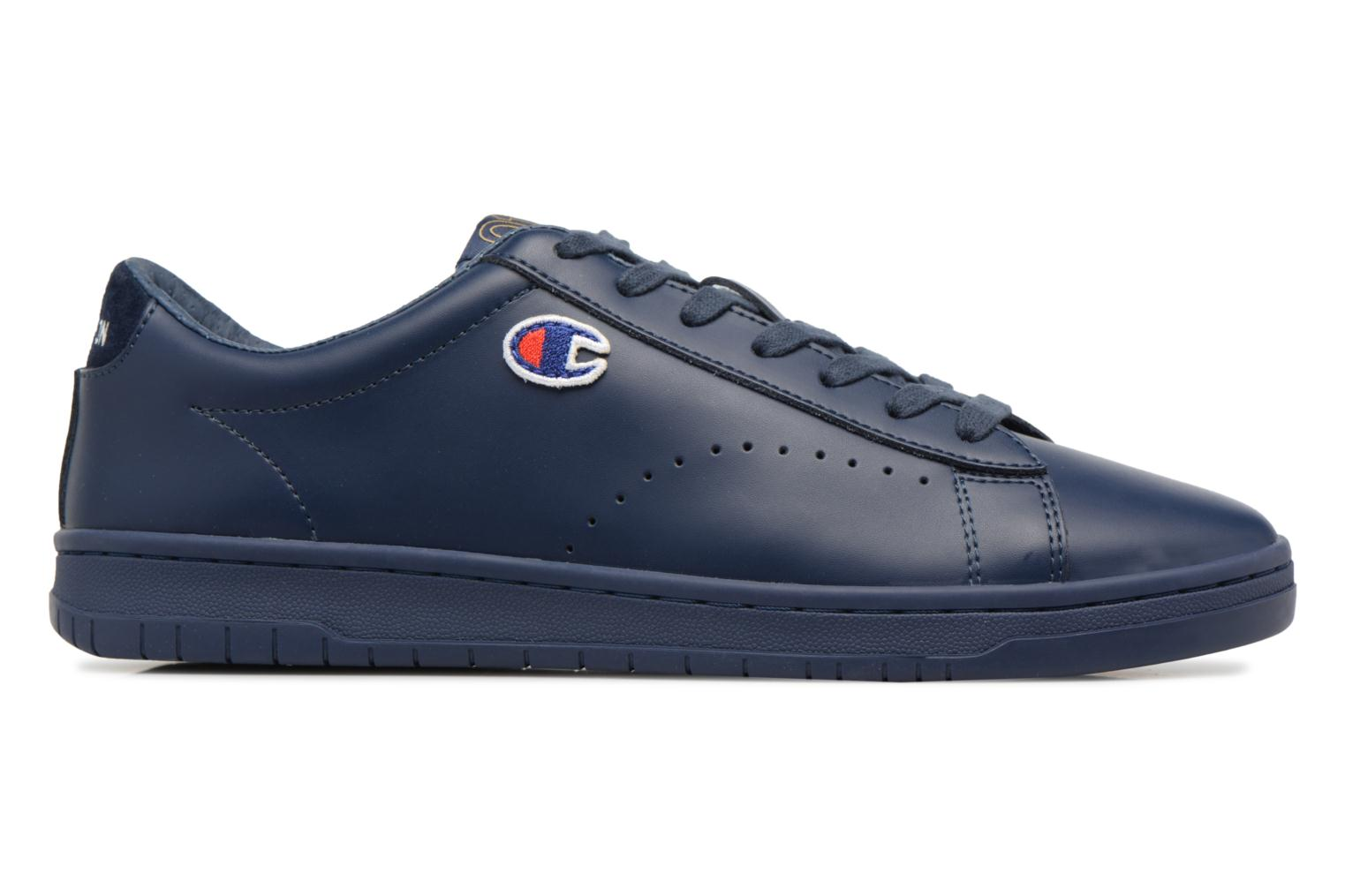 Baskets Champion Low Cut Shoe 919 LOW PATCH LEATHER Bleu vue derrière