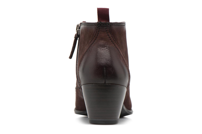 Bottines et boots Tamaris 25115 Bordeaux vue droite