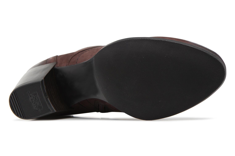 Bottines et boots Tamaris 25115 Bordeaux vue haut