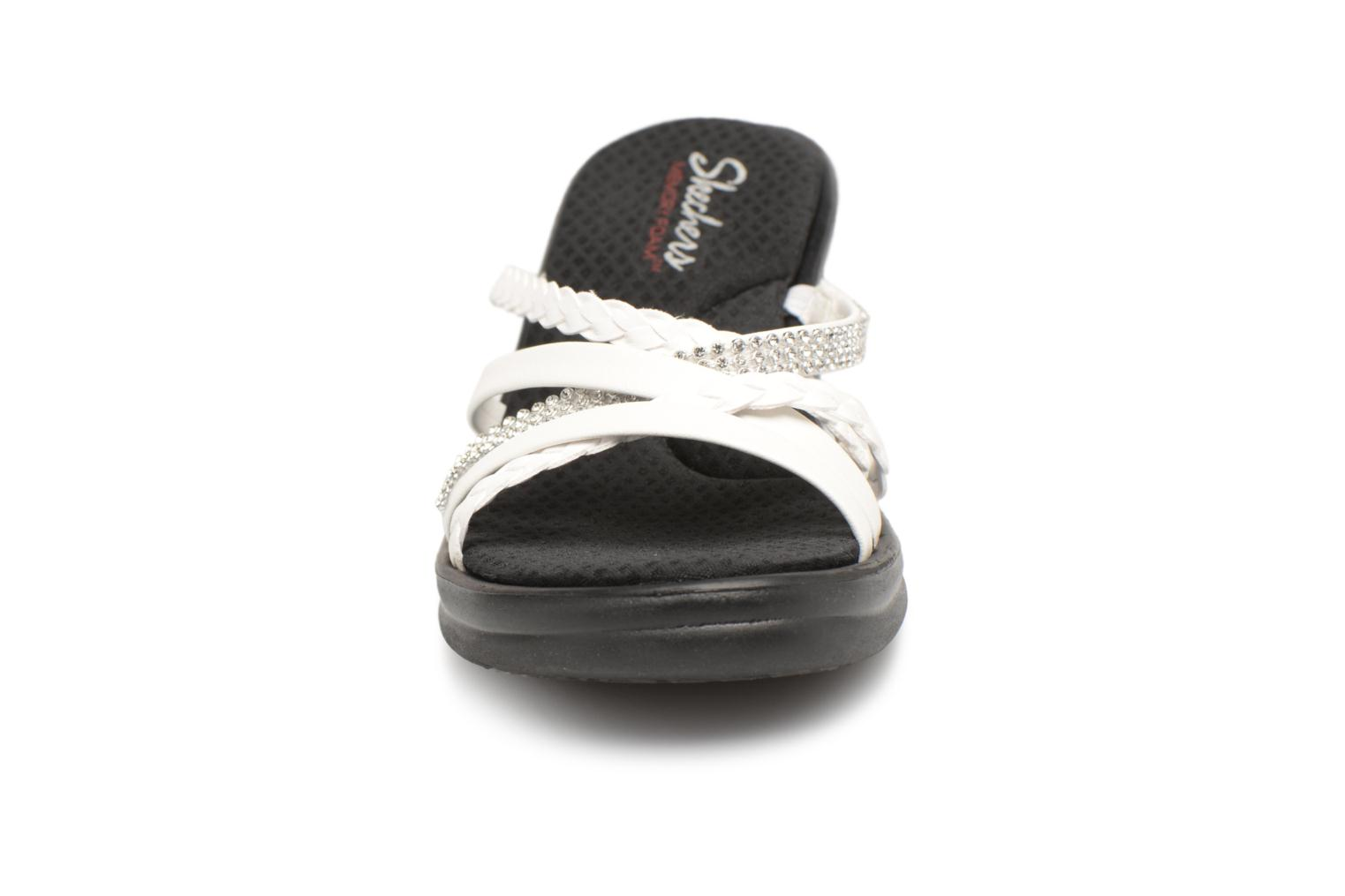 Mules & clogs Skechers Rumblers-Wild Child White model view