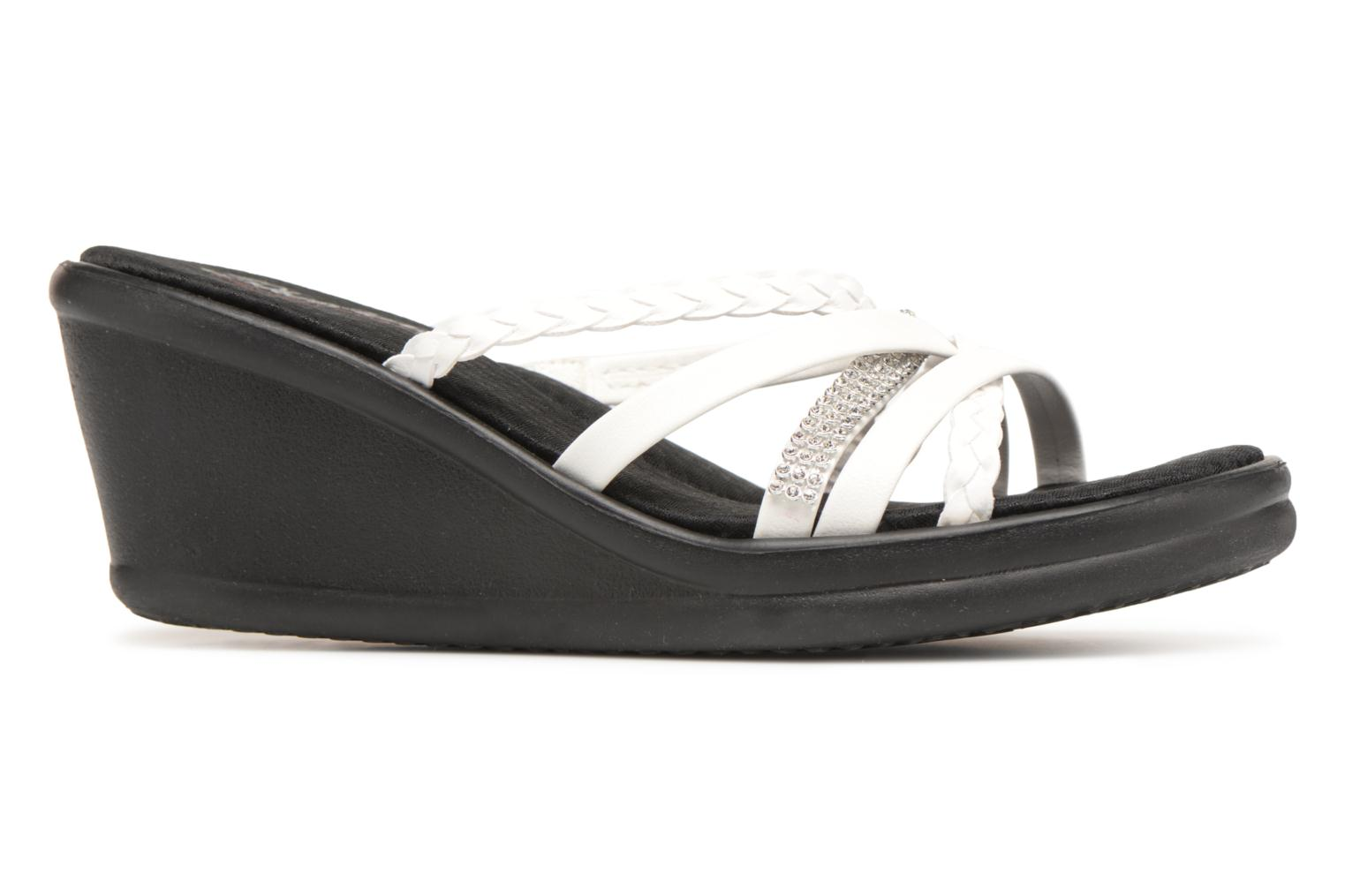 Mules & clogs Skechers Rumblers-Wild Child White back view