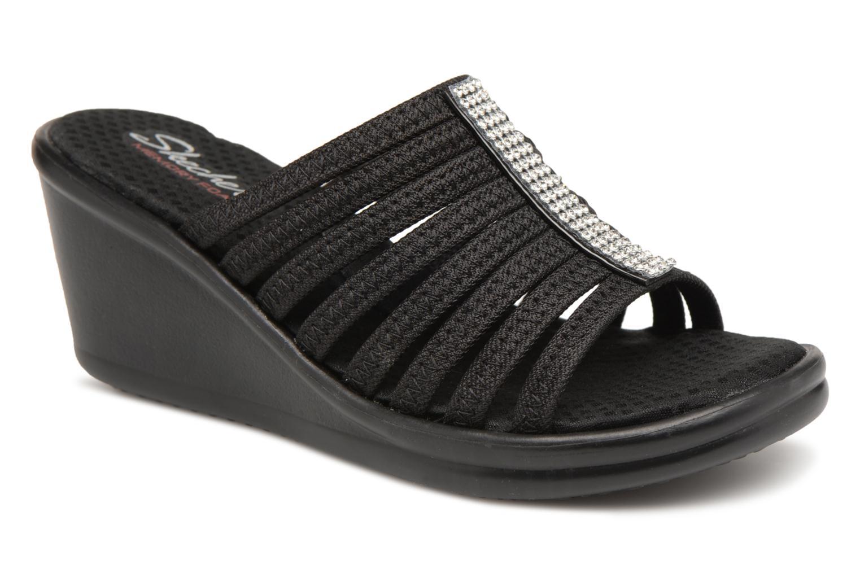 Clogs og træsko Skechers Rumblers-Hotshot Sort detaljeret billede af skoene