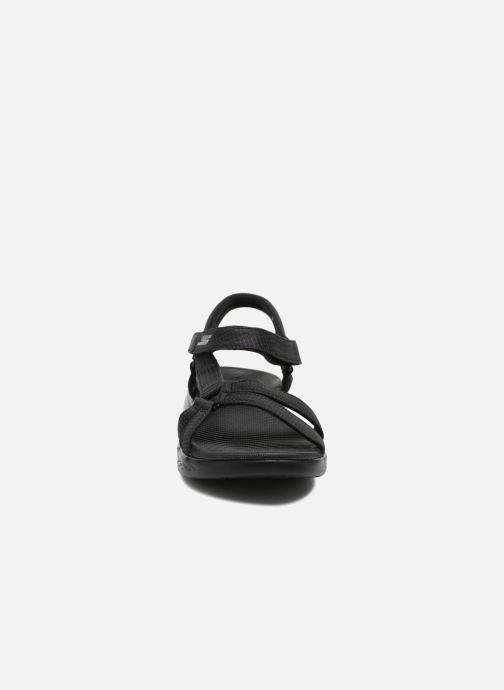 Sandalias Skechers On-The-Go 600-Brilliancy Negro vista del modelo
