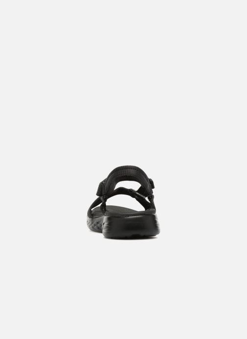 Sandalias Skechers On-The-Go 600-Brilliancy Negro vista lateral derecha