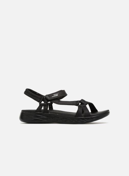 Sandalias Skechers On-The-Go 600-Brilliancy Negro vistra trasera