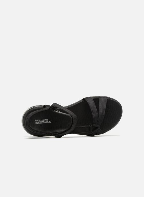 Sandalias Skechers On-The-Go 600-Brilliancy Negro vista lateral izquierda