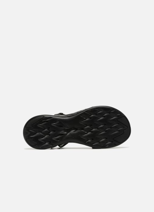 Sandalias Skechers On-The-Go 600-Brilliancy Negro vista de arriba