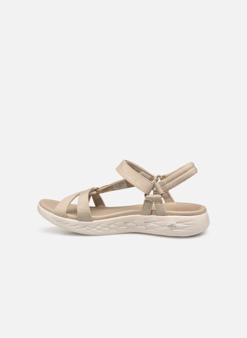 Sandaler Skechers On-The-Go 600-Brilliancy Beige se forfra