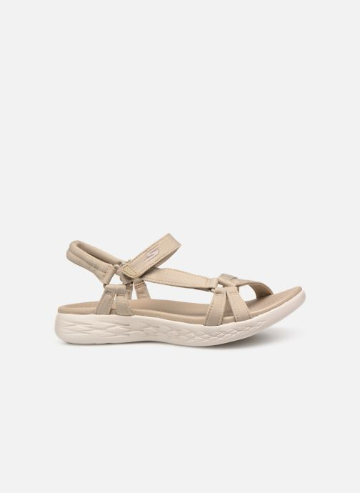 Sandalen Skechers On-The-Go 600-Brilliancy Beige achterkant