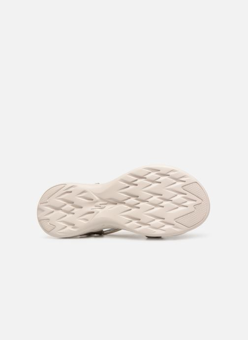 Sandalias Skechers On-The-Go 600-Brilliancy Beige vista de arriba
