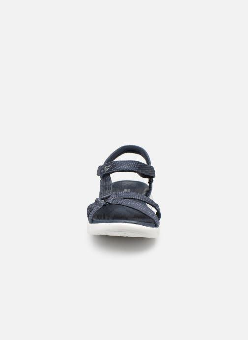 Sandalias Skechers On-The-Go 600-Brilliancy Azul vista del modelo