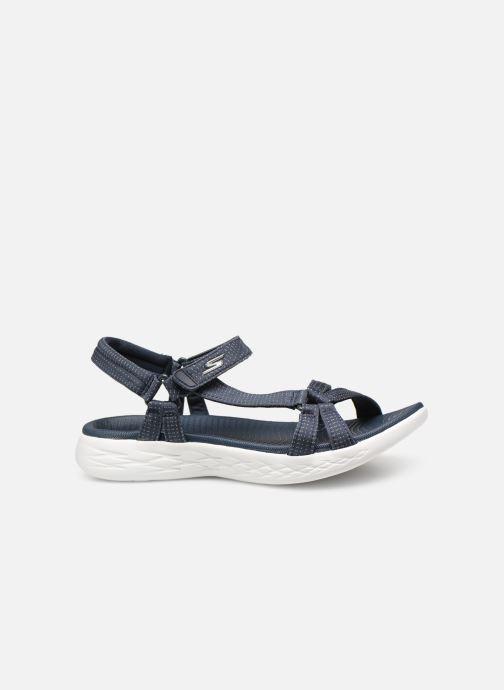 Sandalias Skechers On-The-Go 600-Brilliancy Azul vistra trasera