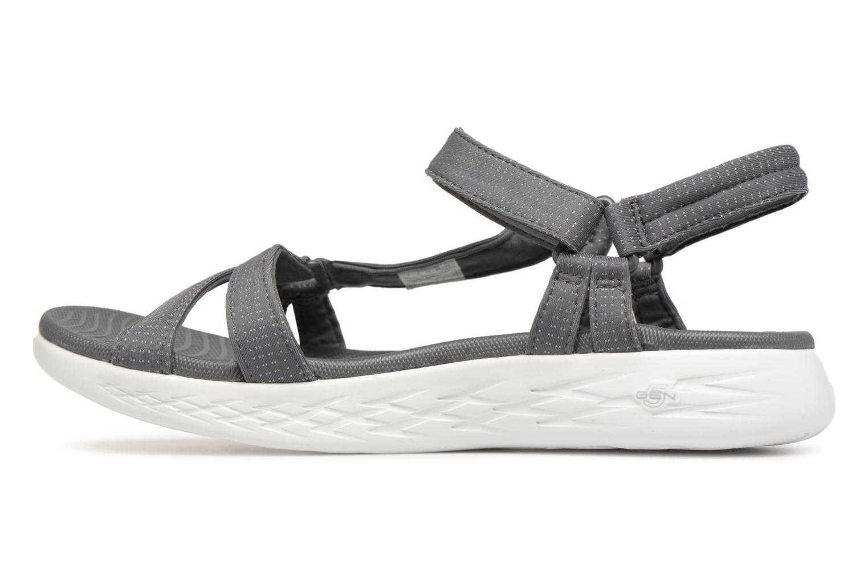 Sandaler Skechers On-The-Go 600-Brilliancy Grå se forfra