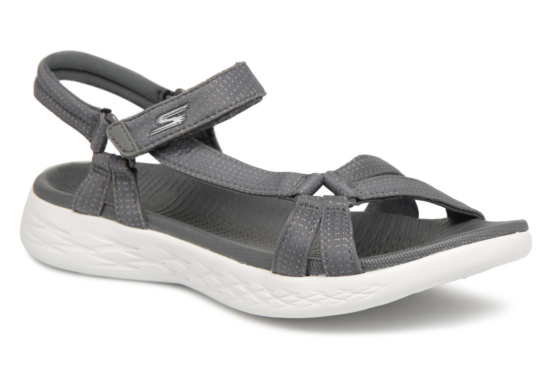 Sandaler Skechers On-The-Go 600-Brilliancy Grå detaljeret billede af skoene
