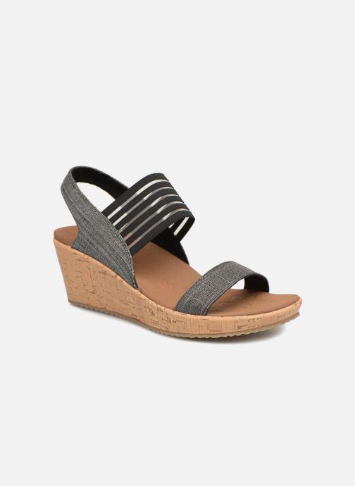 Skechers Beverlee Smitten Kitten (schwarz) Sandalen bei