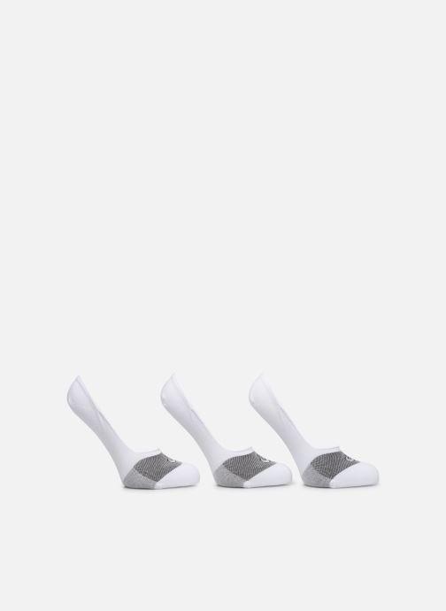 Chaussettes et collants Asics 3PPK SECRET SOCK Blanc vue détail/paire